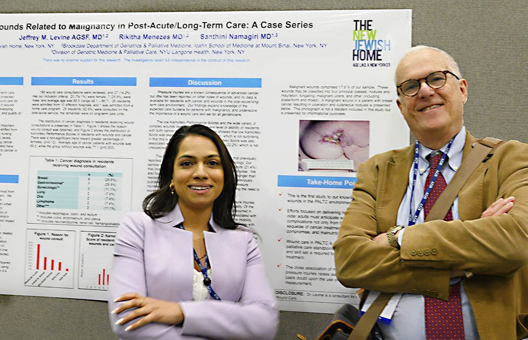 Wound Care Research at the American Geriatrics Society Annual Meeting